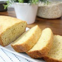 Three Ingredient Banana Bread