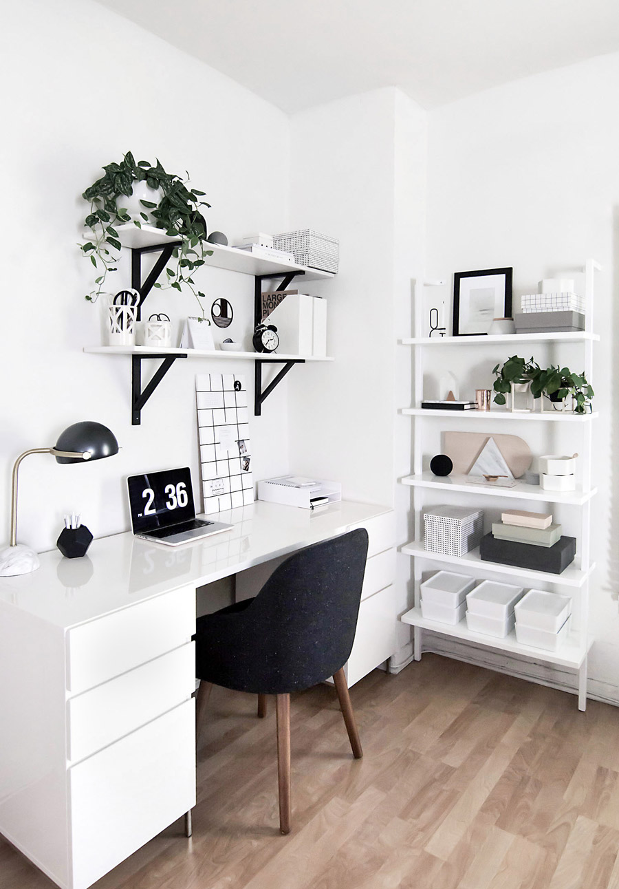 Brilliantly-Organized Home Offices | The Creek Line House