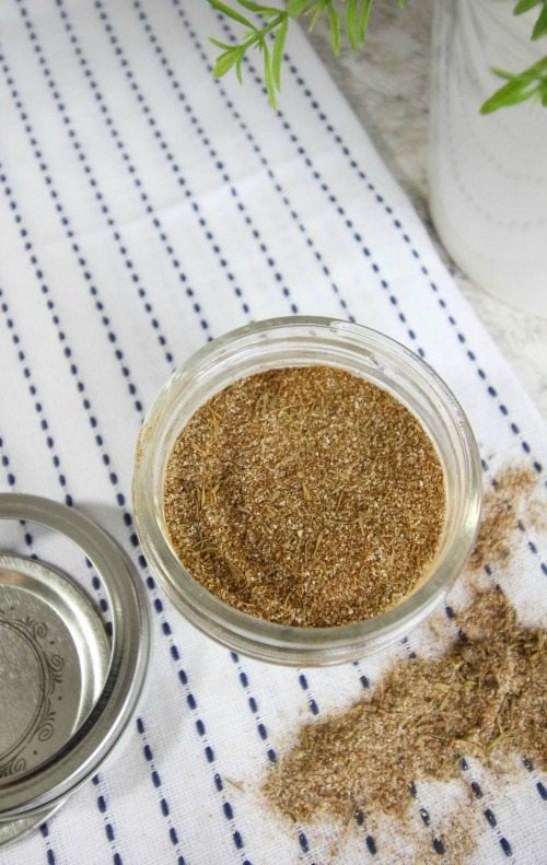 She made her own Jamaican Jerk seasoning mix at home! Great easy to follow recipe!