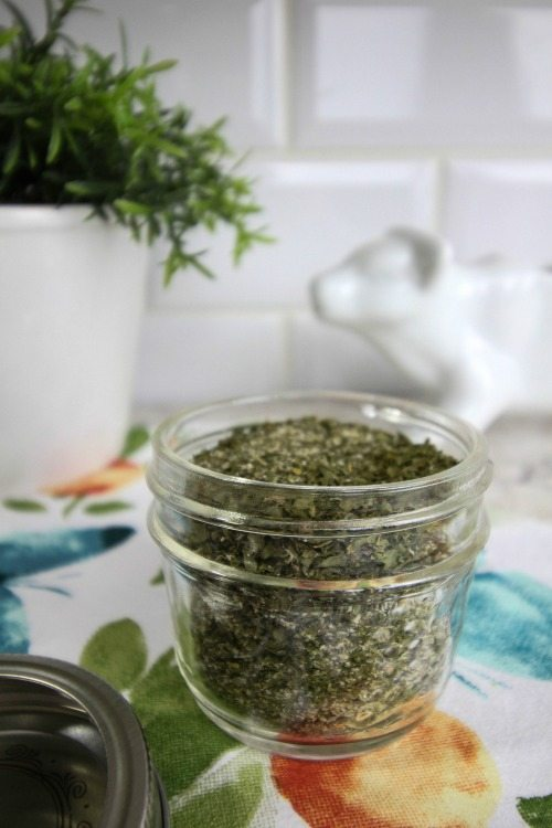 Make your own homemade ranch dressing mix.