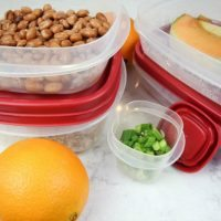 "Healthy Eating: ""One Red Lid"" Food Prep Ideas"