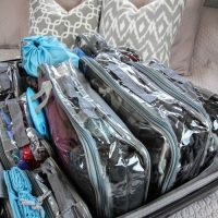How I Pack an Organized Suitcase