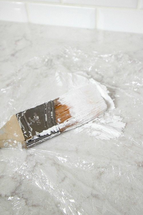 Great Painting Tips - The Paint Brush in the Fridge Trick