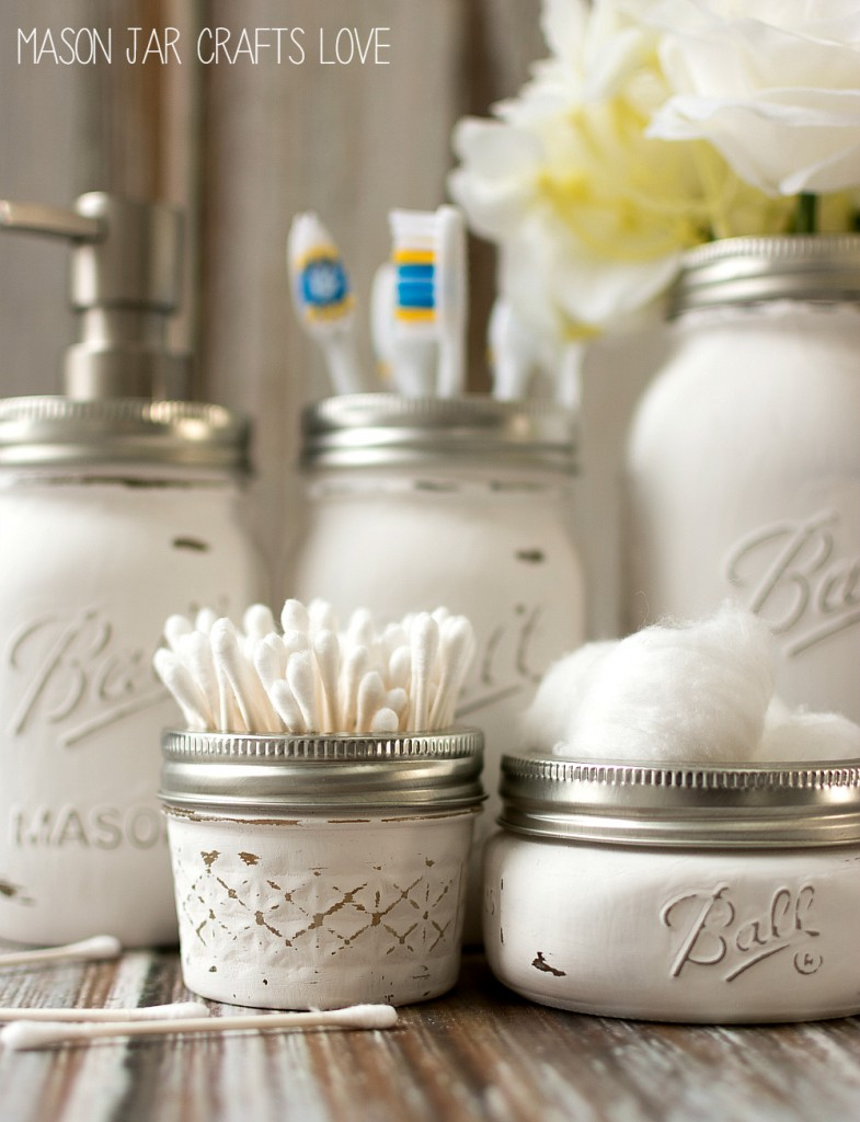 Mason Jar Organizing Ideas The Creek Line House