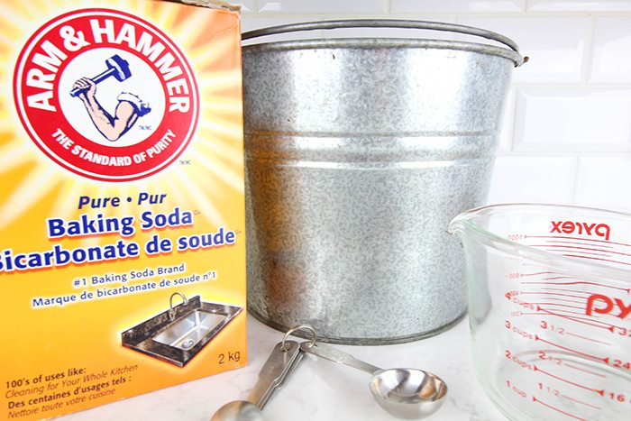 Baking soda has endless uses inside your home but did you know it's just as amazing and versatile outside.  Check out these clever uses for baking soda in the garden!