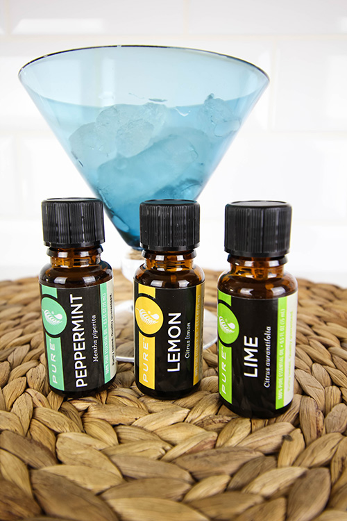 Essential oil recipes that you can use in your diffuser to make your home smell like summer!