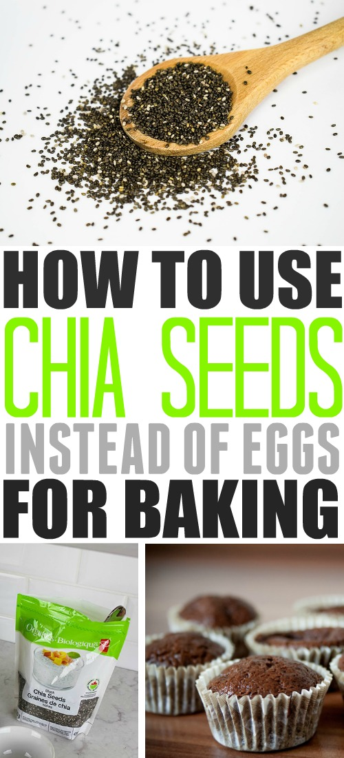 This chia seed egg substitute could save the day next time you're short on eggs or keep this trick handy if you ever need to replace eggs in your baking.