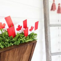 DIY Door Hanger Basket (Wreath Alternative)