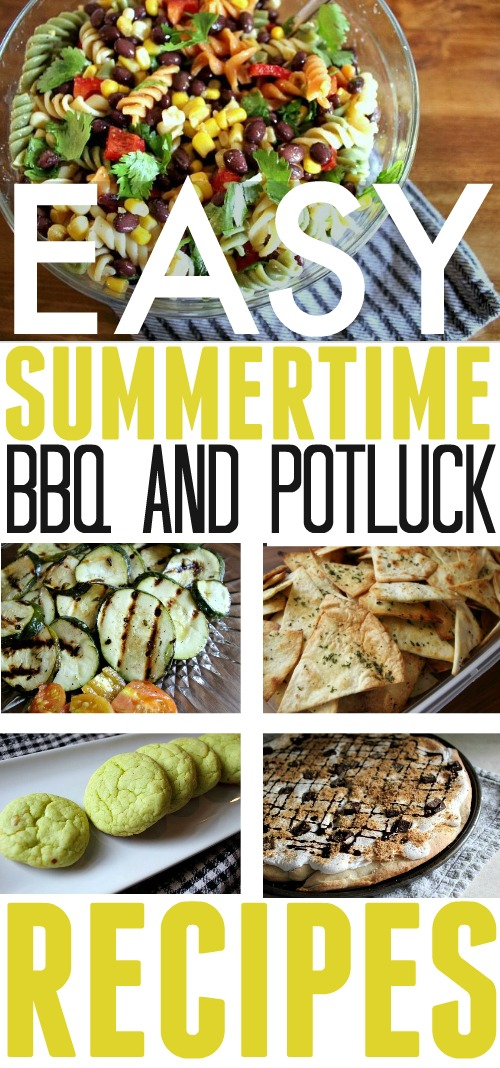 Be prepared for all your summer potlucks with this amazing collection of my favorite outdoor summer BBQ potluck recipes. Mains, snack, even desserts!
