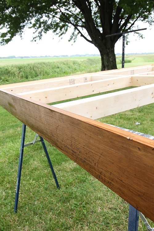 New Make your own simple bed frame for your giant bed instead of paying thousands for one