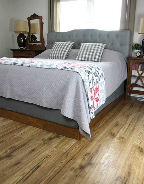 Best Make your own simple bed frame for your giant bed instead of paying thousands for one