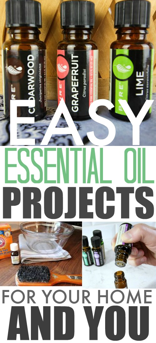 Fun and Effective Essential Oil Projects for Your Home and You!