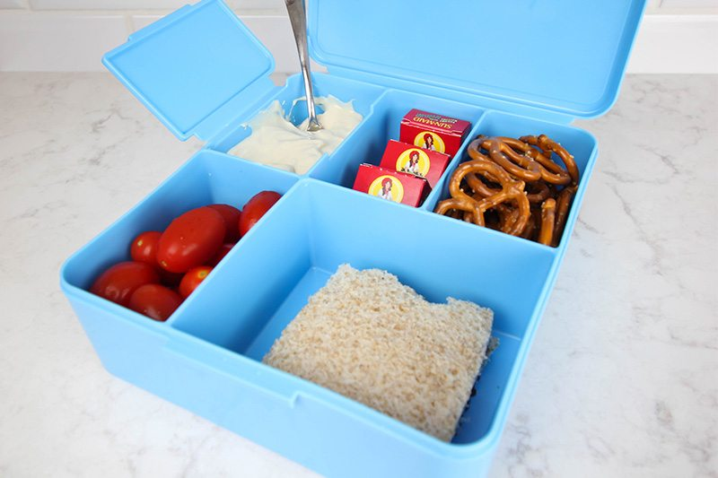 Ideas for making bento box school lunches for picky eaters!