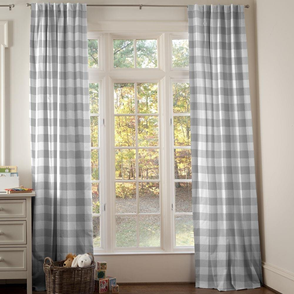Home Design Ideas Curtains: Affordable Grey And White Home Decor Ideas