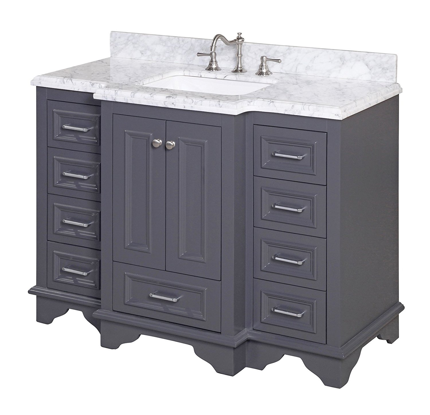 Bathroom Vanity Options stunning grey bathroom vanity options - the creek line house