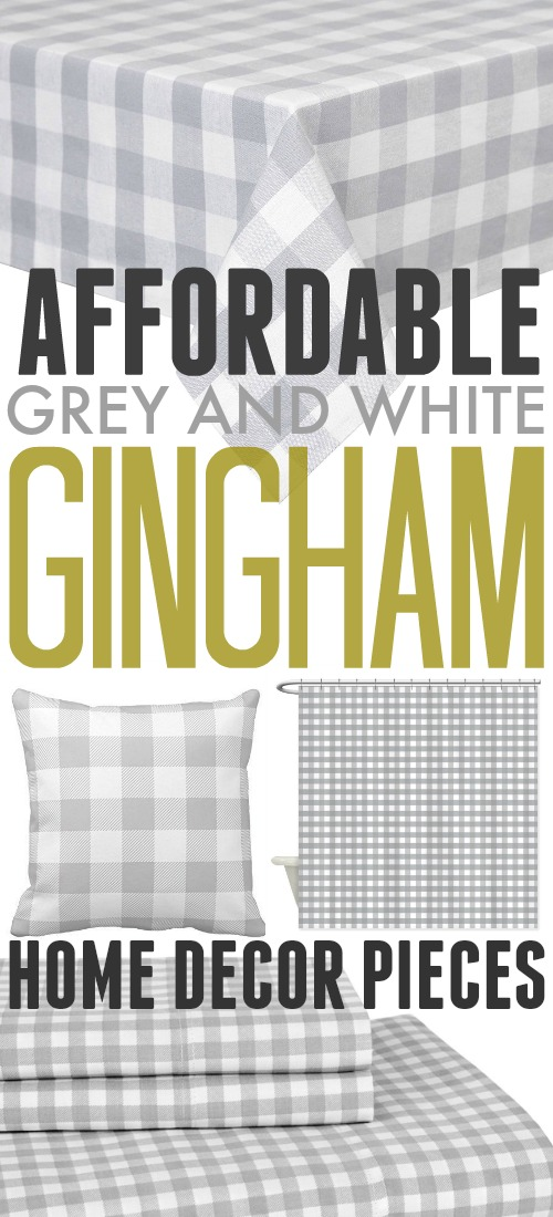 Affordable Grey and White Home Decor Ideas!