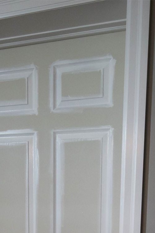 Efficient Door Painting Tips The Creek Line House
