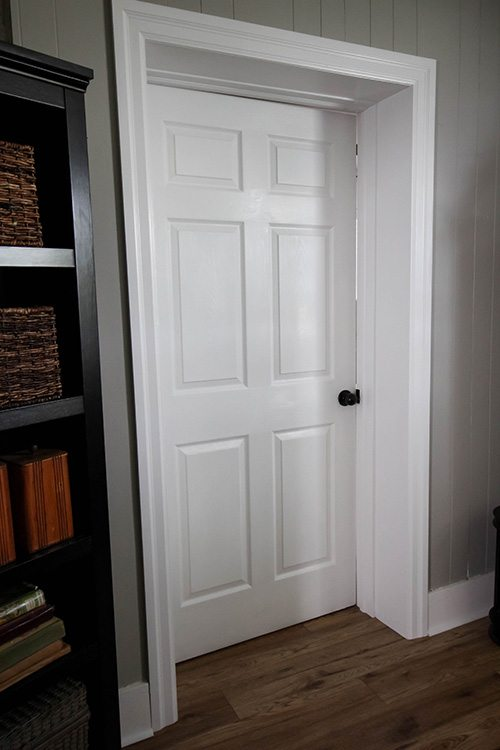 Painting interior doors is great way to freshen up any indoor space. Get the job done quickly and done well with this step by step door painting guide.