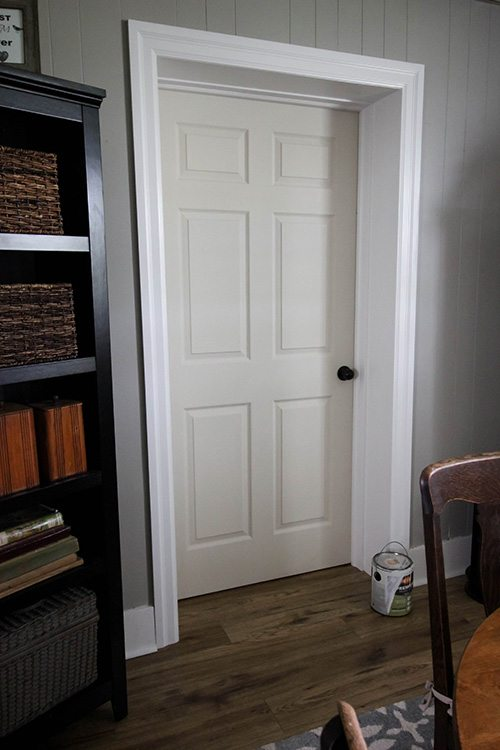 The fastest, most efficient way to paint a door.