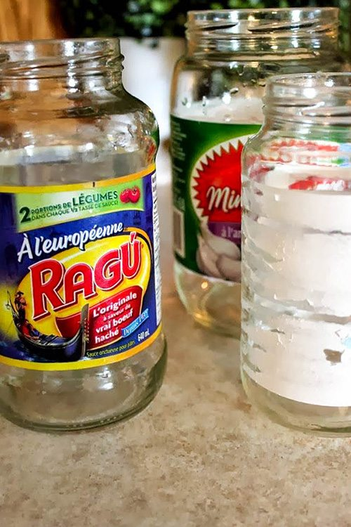 the no sweat chemical free way to remove labels and glue residue