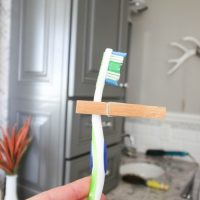 The Clothespin on the Toothbrush Trick