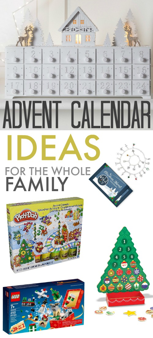 Beautiful Advent Calendar Ideas for You and Everyone on your List!