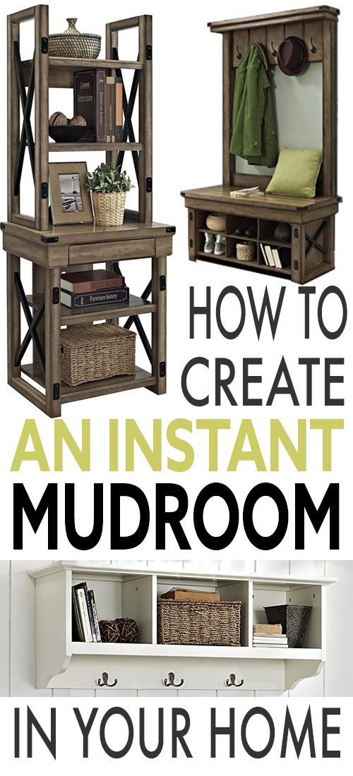If you need to add some extra storage and functionality to your home really quickly, consider one of these instant mudroom ideas!