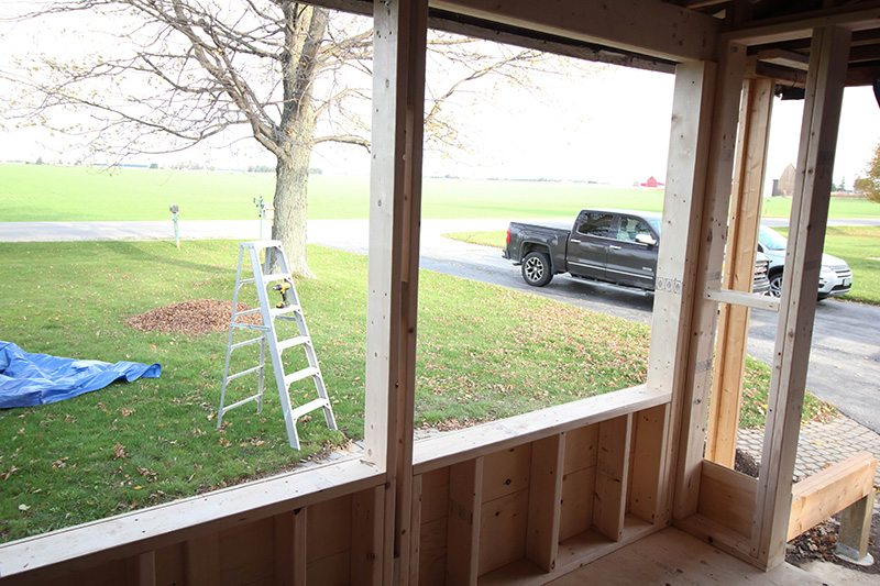 An update on the big mudroom project that we've been working on so much over the last few months!