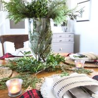 Gathering Greenery From Your Backyard for Christmas Decor