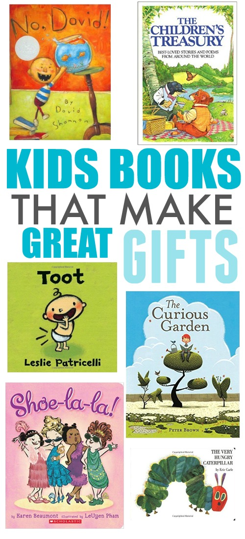 If you're in need of a great last-minute gift for the kids in your life, look no further than these kids' books that make great gifts!