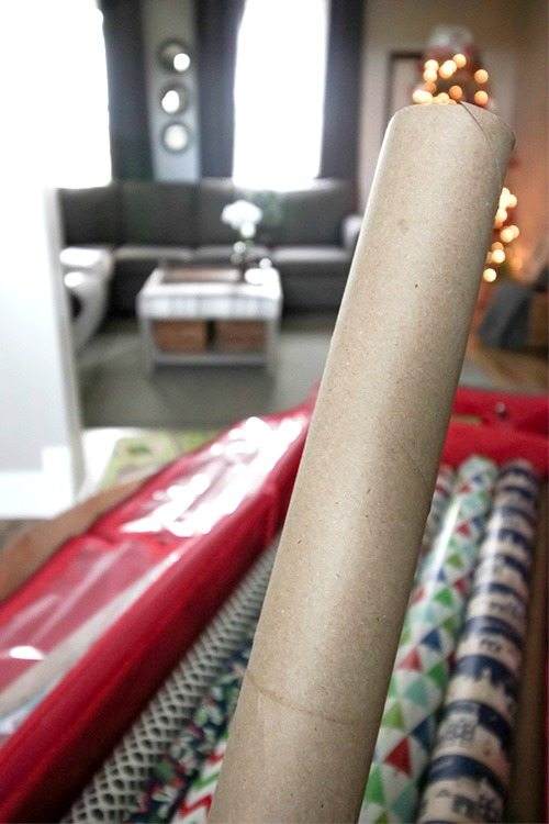 Keep Wrapping Paper Tidy - What you need