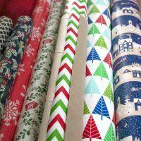 How to Keep Wrapping Paper Tidy