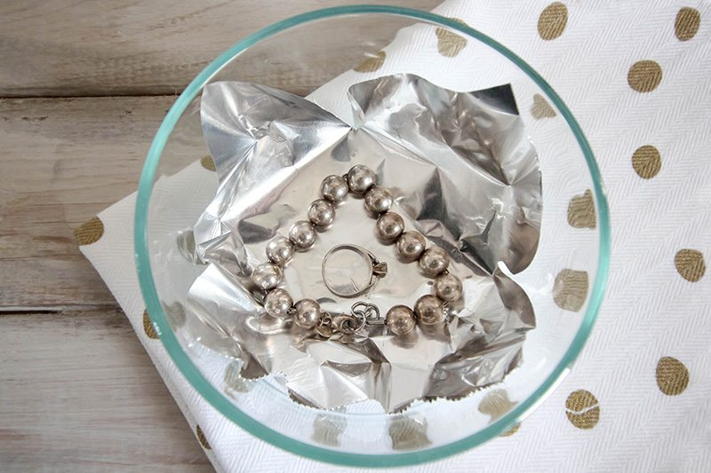 The best way to clean jewelry naturally! Clean jewelry quickly and easily without using a single harsh chemical! This cleans almost all types of jewelry. Step 1