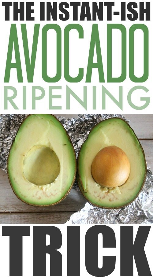If you need to know how to quickly ripen an avocado, you've come to the right place! This trick will allow you to use your perfectly ripened avocado in about 20 minutes!