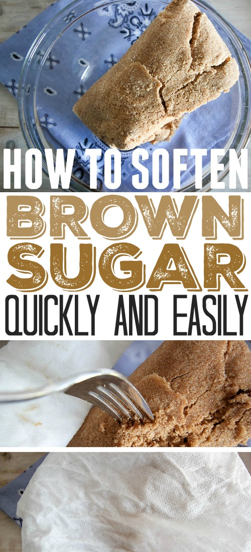 How to soften brown sugar quickly.