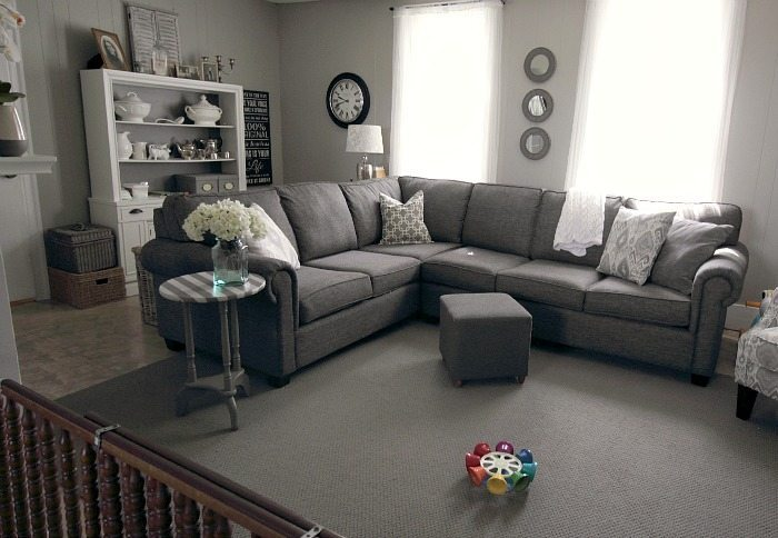 Grey sofa options that are easy and affordable!