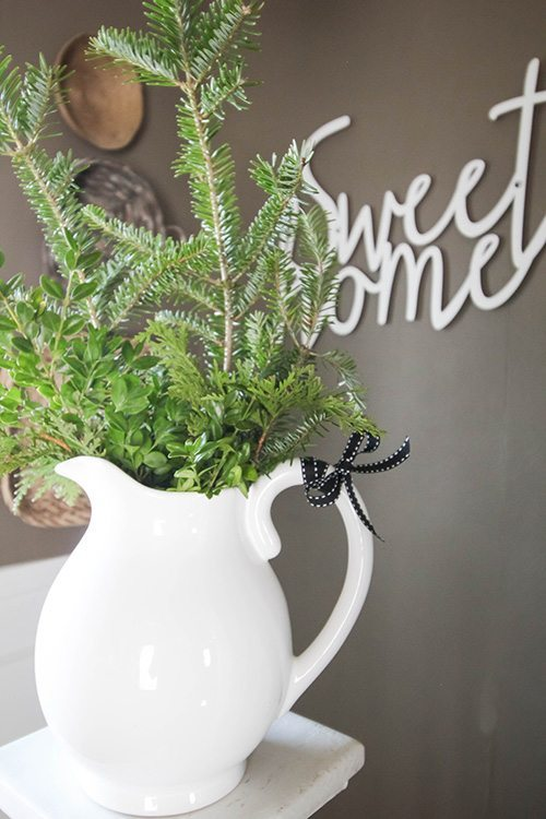 My very favourite ways to decorate for free! Fresh Greenery