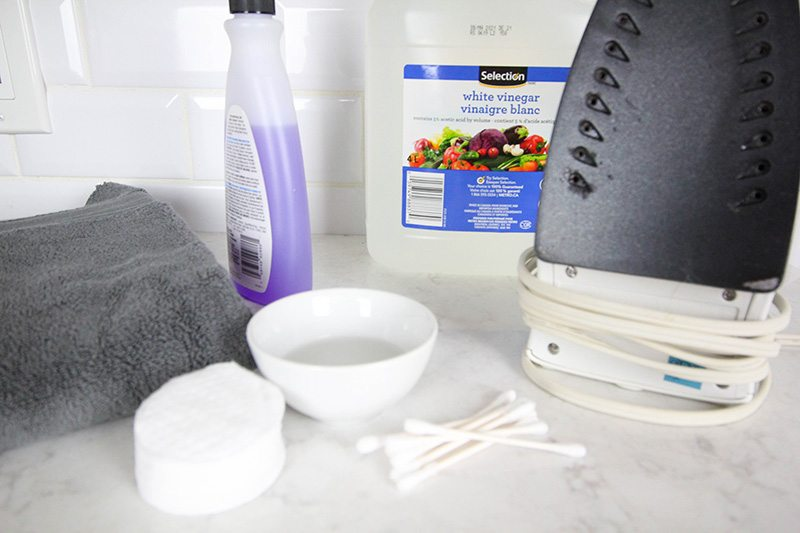 How to clean an iron no matter what kind of issues it throws at you! Keeping your iron clean can be pretty simple and straightforward if you have a few easy tricks up your sleeve!