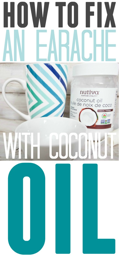 If you find yourself with an earache, reach for the coconut oil in your cupboard first before trying out any over-the-counter medicines. It's amazing how you can fix an earache with coconut oil!