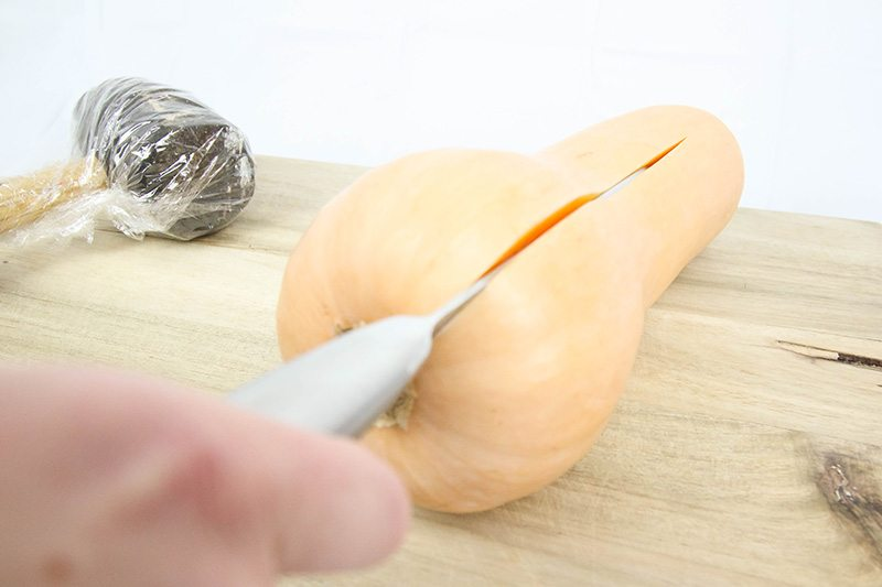 I love winter squash! They're delicious and healthy and such great comfort food during the colder months. The only problem is that they can be so hard to cut! Read on to learn how to easily cut a winter squash!