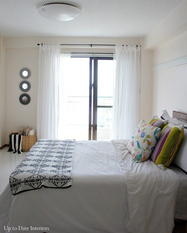 Uses for Command Hooks - A curtain rod