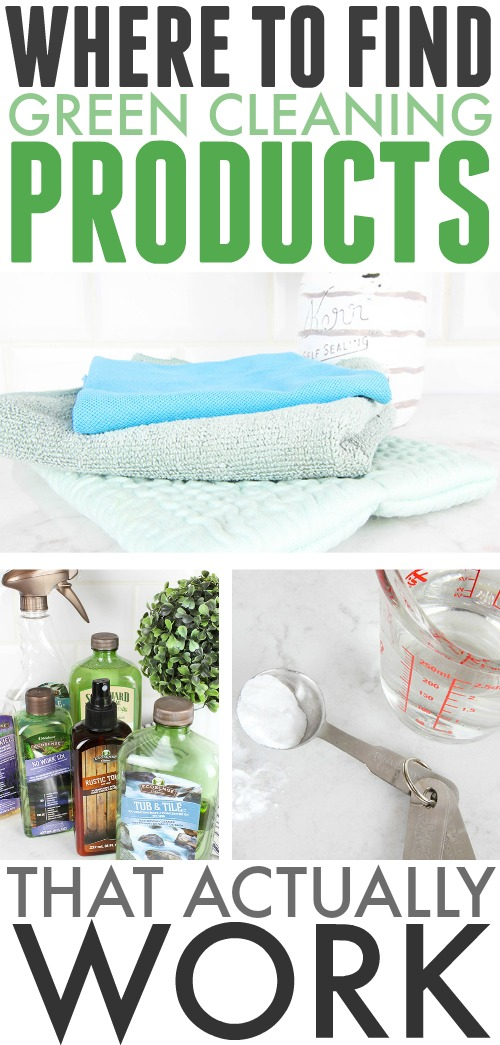 If you've been disappointed by the effectiveness of the green cleaning products you've tried in the past, but would still like to find a way to use cleaners that are better for the environment and safer for your family, here are a few of my favorites!