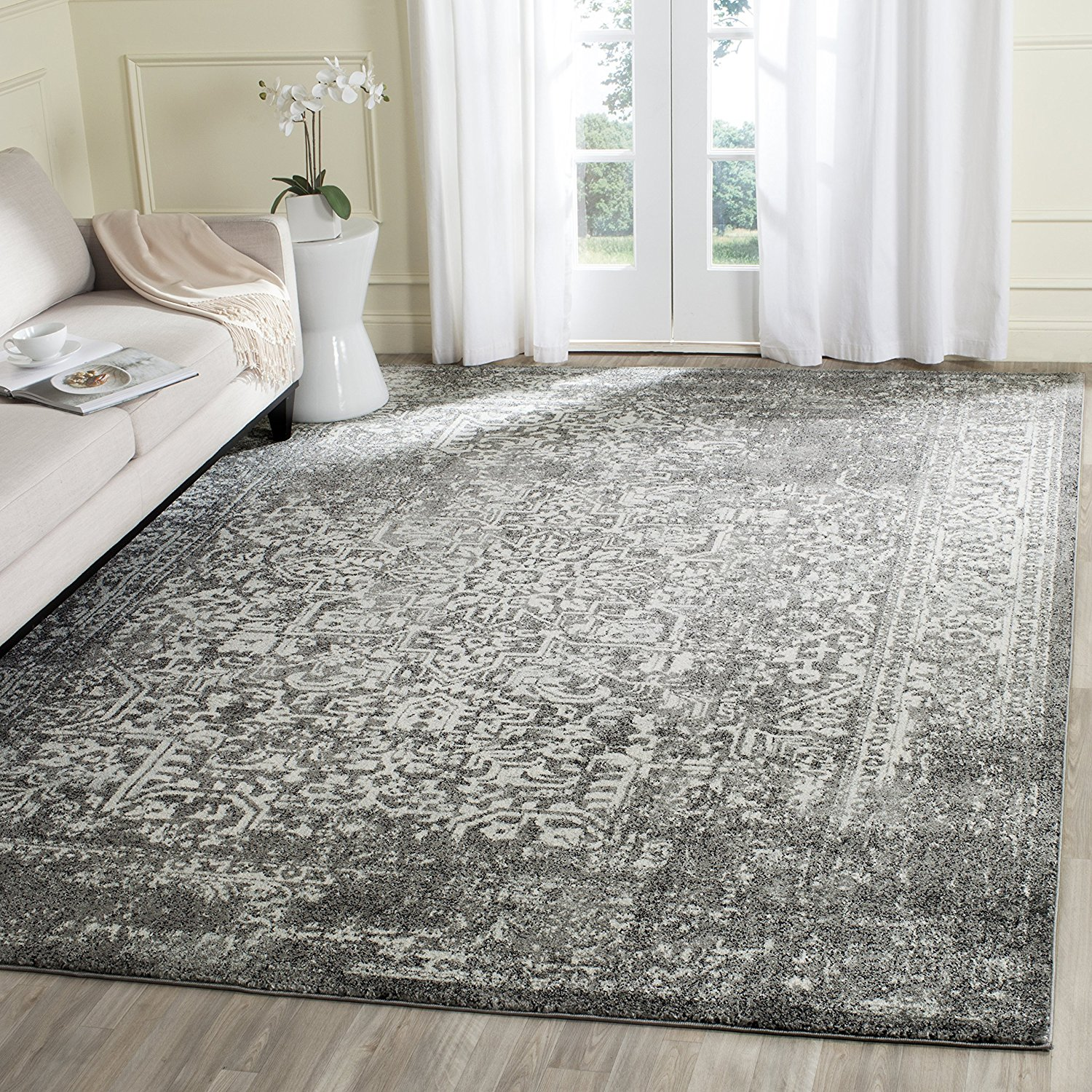 Farmhouse style area rugs under 100 the creek line house for Area carpets and rugs