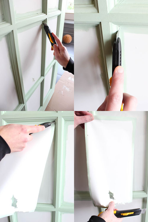 Believe it or not, you can paint a French door with very little effort or frustration and it doesn't have to involve hours of scraping or taping off every piece of glass off with painter's tape! Don't believe it's possible? Read on for some clever tips that will make all the difference!