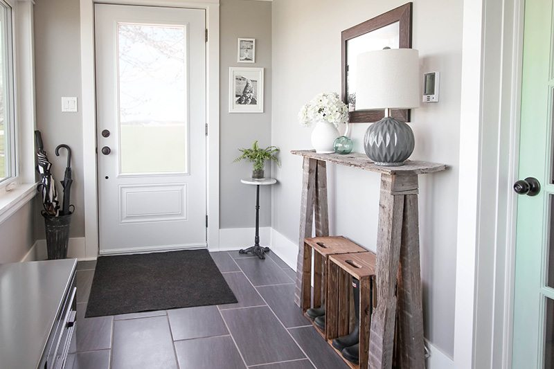 Our big mudroom project is finally done and today's the day I get to show you around! I wanted to take this time to share with you some of the great mudroom storage ideas we've come up with in here since functionality is really what this room is all about!
