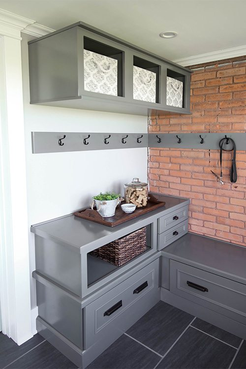 More Mudroom Storage Ideas