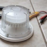 How to Install LED Light Fixtures to Replace Old Utility Lights