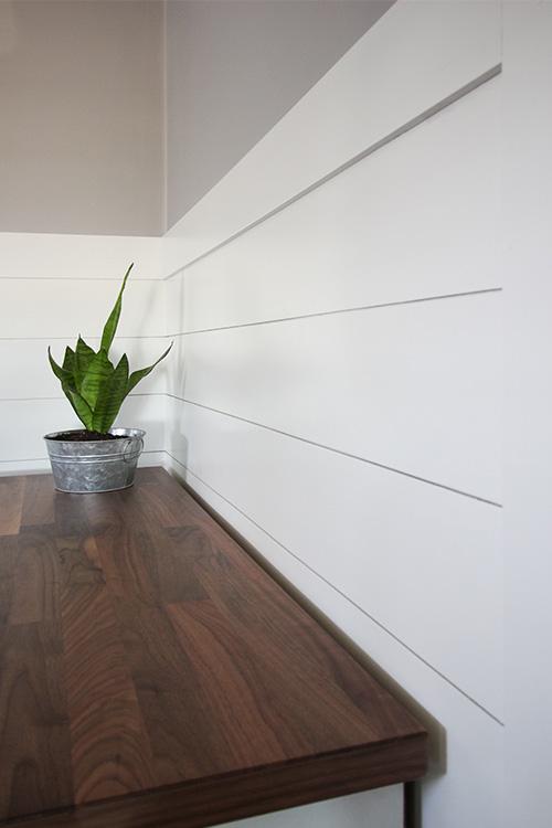 DIY ShipLap Walls for Cheap