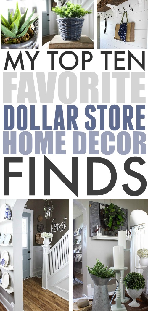 Top Ten Favourite Dollar Store Home Decor Finds | The ...