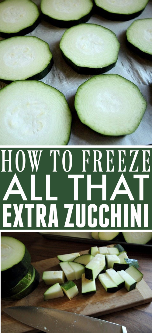 Are you drowning in your bumper crop of zucchini? Here's how to freeze zucchini so you can preserve that bountiful harvest to enjoy later.